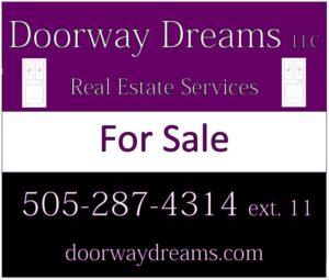 Doorway Dreams Sign