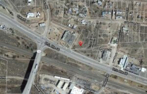 Grants, NM Commercial Lot - Aerial Photo